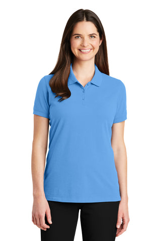 Port Authority ®  Ladies EZCotton ™  Polo. LK8000 - Azure Blue