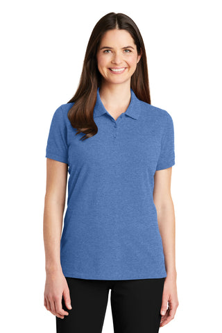Port Authority ®  Ladies EZCotton ™  Polo. LK8000 - Blue Heather