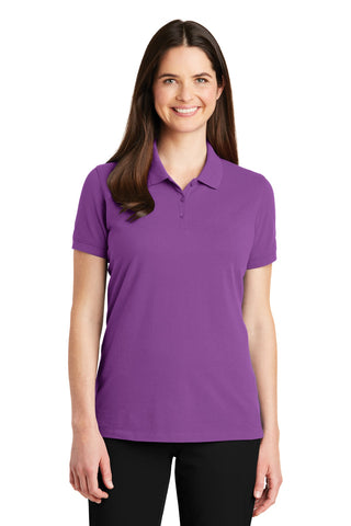 Port Authority ®  Ladies EZCotton ™  Polo. LK8000 - Bright Violet