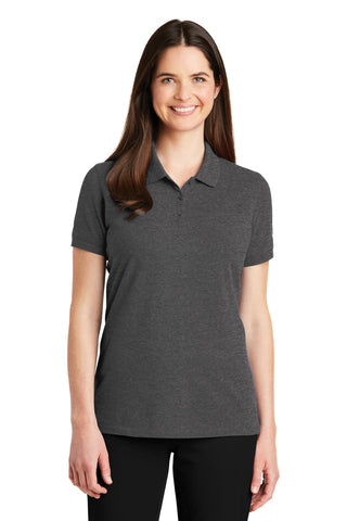Port Authority ®  Ladies EZCotton ™  Polo. LK8000 - Charcoal Heather