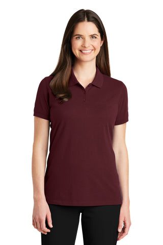 Port Authority ®  Ladies EZCotton ™  Polo. LK8000 - Maroon