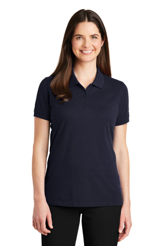 Port Authority ®  Ladies EZCotton ™  Polo. LK8000 - Navy