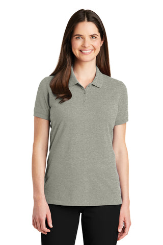 Port Authority ®  Ladies EZCotton ™  Polo. LK8000 - Oxford Heather