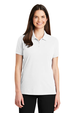 Port Authority ®  Ladies EZCotton ™  Polo. LK8000 - White