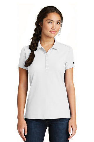 New Era  ®  Ladies Venue Home Plate Polo. LNEA300 - White