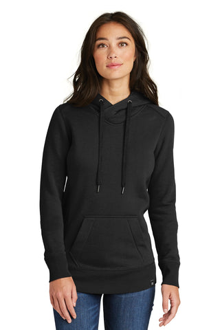 New Era  ®  Ladies French Terry Pullover Hoodie. LNEA500 - Black