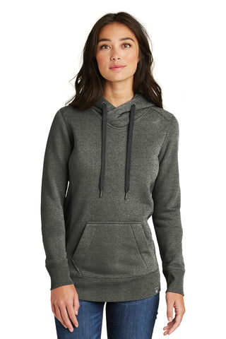 New Era  ®  Ladies French Terry Pullover Hoodie. LNEA500 - Black Twist