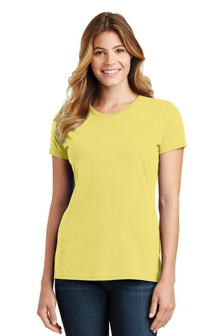 Port & Company ®  Ladies Fan Favorite Tee. LPC450 - Yellow