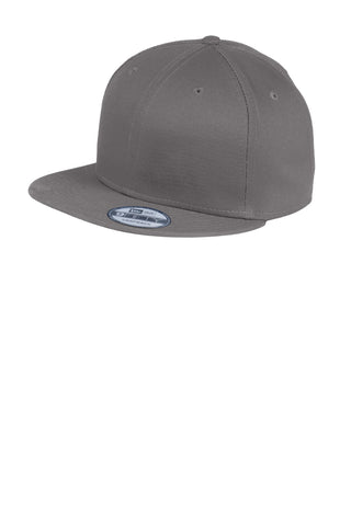 New Era ®  - Flat Bill Snapback Cap. NE400 - Charcoal