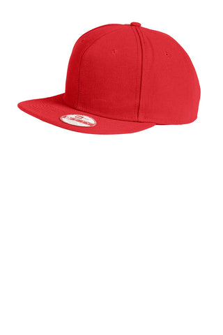 New Era ®  Original Fit Flat Bill Snapback Cap. NE402 - Scarlet