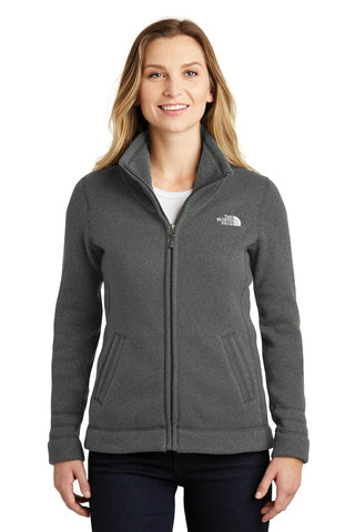 The North Face  ®  Ladies Sweater Fleece Jacket. NF0A3LH8 - TNF Black Heather