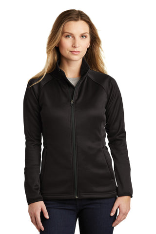 The North Face  ®  Ladies Canyon Flats Stretch Fleece Jacket. NF0A3LHA - TNF Black