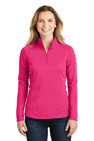 The North Face  ®  Ladies Tech 1/4-Zip Fleece. NF0A3LHC - Petticoat Pink