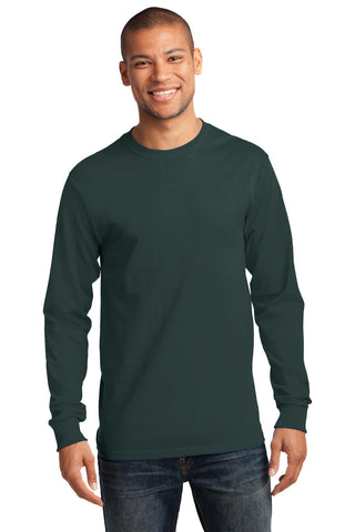 Port & Company ®  - Long Sleeve Essential Tee. PC61LS - Dark Green