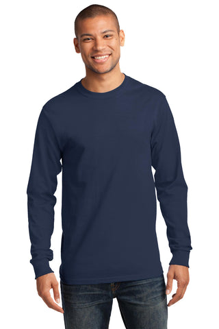 Port & Company ®  - Long Sleeve Essential Tee. PC61LS - Navy