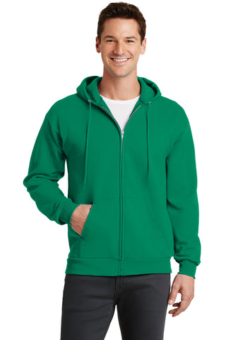 Port & Company ®  - Core Fleece Full-Zip Hooded Sweatshirt. PC78ZH - Kelly