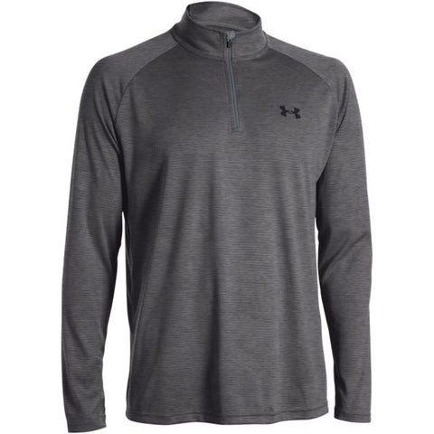 Men's UA Tech  Zip - Carbon Heather
