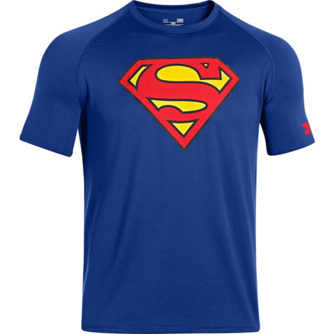 Men's Under Armour Alter Ego Superman Core TShirt - Royal