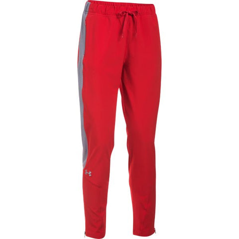 W's UA Squad Woven Pant - Red