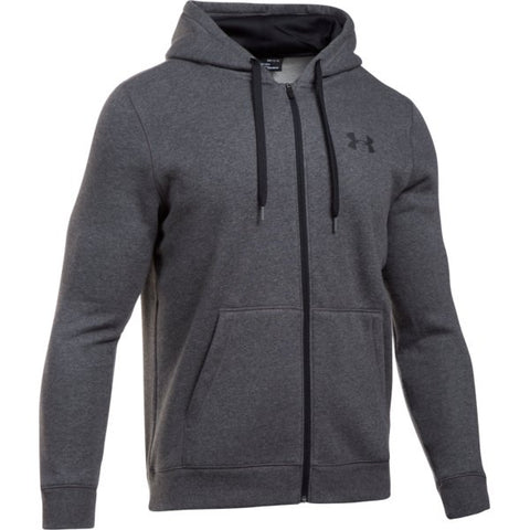 Rival Fitted Full Zip - Carbon Heather