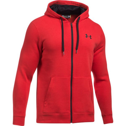 Rival Fitted Full Zip - Red
