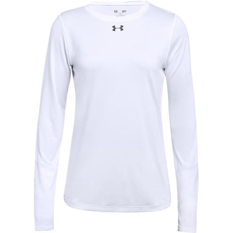 UA W's Locker Tee LS 2.0 - White