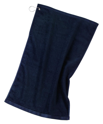 Port Authority ®  Grommeted Golf Towel.  TW51 - Navy