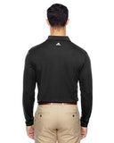 Adidas Men's climalite Long-Sleeve Polo - Black/ White