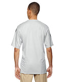 Adidas Men's climalite 3-Stripes T-Shirt - Clear Onix/ Blk