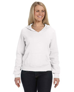 Comfort Colors Ladies' Hooded Sweatshirt - White