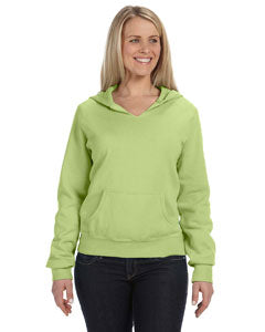 Comfort Colors Ladies' Hooded Sweatshirt - Celedon