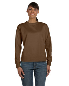 Comfort Colors Ladies' Crewneck Sweatshirt - Brown