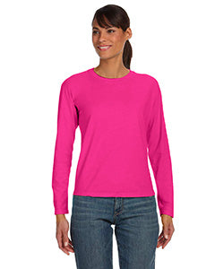 Comfort Colors Ladies' Midweight RS Long-Sleeve T-Shirt - Heliconia