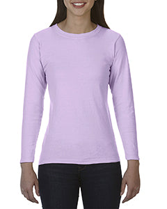 Comfort Colors Ladies' Midweight RS Long-Sleeve T-Shirt - Orchid