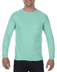 Comfort Colors Adult Heavyweight RS�Long-Sleeve Pocket T-Shirt - Island Reef