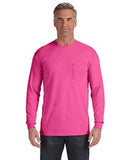 Comfort Colors Adult Heavyweight RS�Long-Sleeve Pocket T-Shirt - Peony