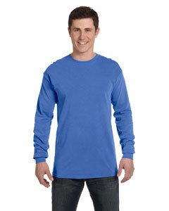 Comfort Colors Adult Heavyweight RS Long-Sleeve T-Shirt - Neon Blue