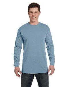 Comfort Colors Adult Heavyweight RS Long-Sleeve T-Shirt - Ice Blue