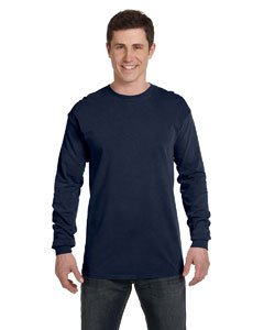 Comfort Colors Adult Heavyweight RS Long-Sleeve T-Shirt - True Navy