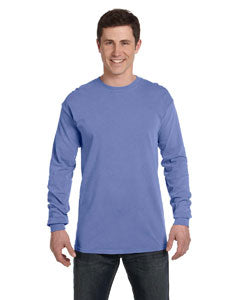 Comfort Colors Adult Heavyweight RS Long-Sleeve T-Shirt - Flo Blue