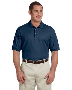 Devon & Jones Men's Pima Piqu� Short-Sleeve Polo - Navy