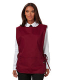 Dickies Chef Cobble Bib Apron with Tie Sides - Burgundy