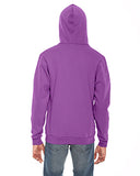 American Apparel Unisex Flex Fleece Zip Hoodie - Dark Orchid