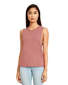 Next Level Ladies' Festival Muscle Tank - Smoked Paprika