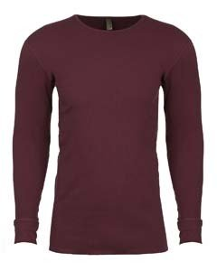 Next Level Adult Long-Sleeve Thermal - Maroon