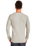 Next Level Adult Long-Sleeve Thermal - Sand/ Gray
