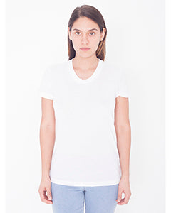 American Apparel Ladies' Sublimation Short-Sleeve T-Shirt - White