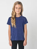 American Apparel Toddler Triblend Short-Sleeve T-Shirt - Tri Indigo