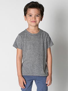American Apparel Toddler Triblend Short-Sleeve T-Shirt - Athletic Grey