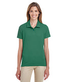 Team 365 Ladies' Command Snag Protection Polo - Sprt Dark Green